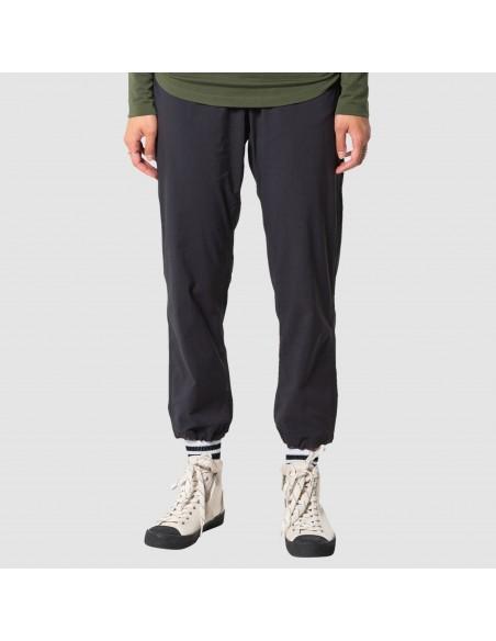 Topo Designs Womens Boulder Pants Black Onbody Front