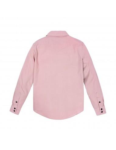 Topo Designs Dámska Mountain Lightweight Košeľa Rúžová Hmla Offbody Zozadu