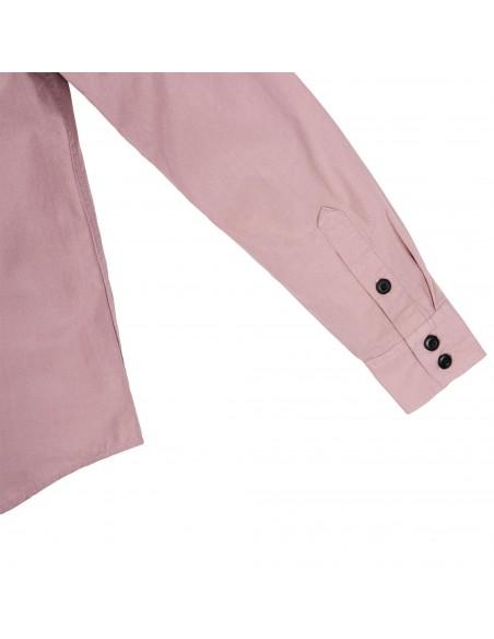 Topo Designs Dámska Mountain Lightweight Košeľa Rúžová Hmla Offbody Detaily 3