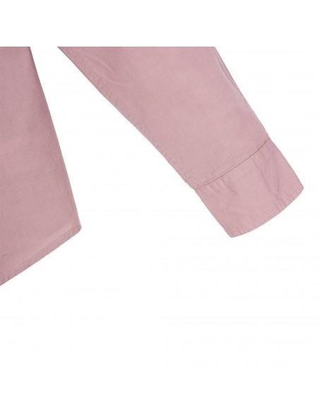Topo Designs Dámska Mountain Lightweight Košeľa Rúžová Hmla Offbody Detaily 4