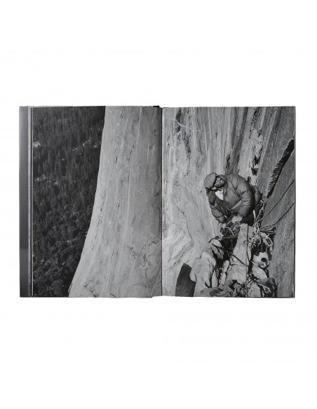 Patagonia Yosemite In the Sixties by Glen Denny hardcover book open