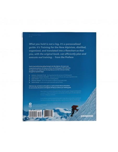 Patagonia The New Alpinism Training Log Kniha Špirálová Väzba Obal Zozadu
