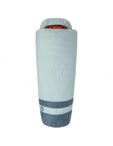 Big Agnes Diamond Park 30 Sleeping Bag Gray Slate Front