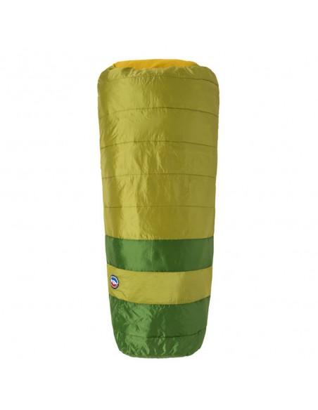 Big Agnes Echo Park 40 Sleeping Bag Olive Green Front