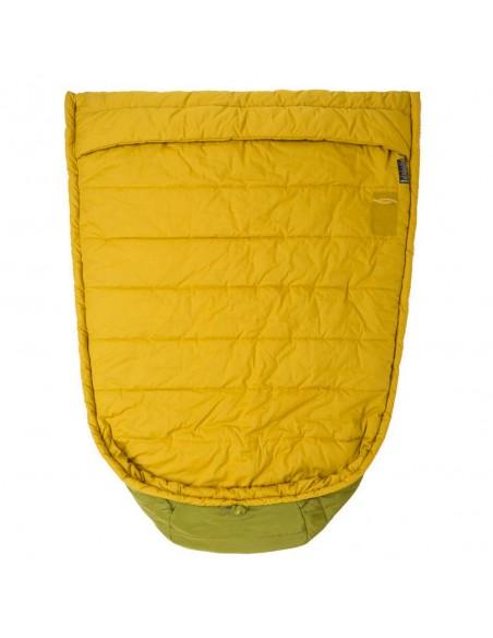 Big Agnes Echo Park 40 Sleeping Bag Olive Green Front Detail