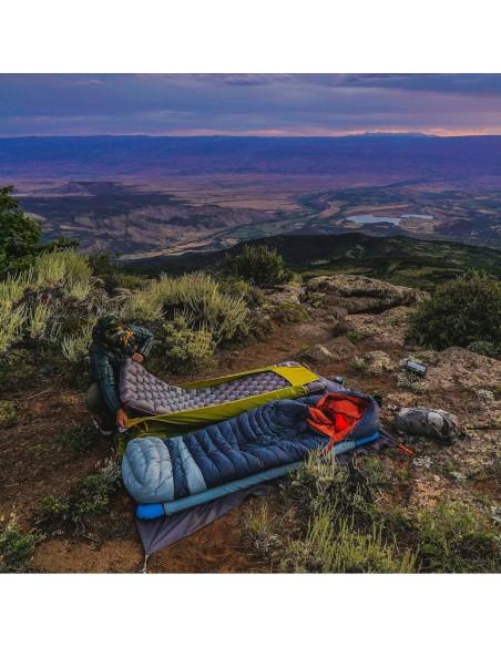Big Agnes Diamond Park 30 Sleeping Bag Gray Slate Lifestyle 2
