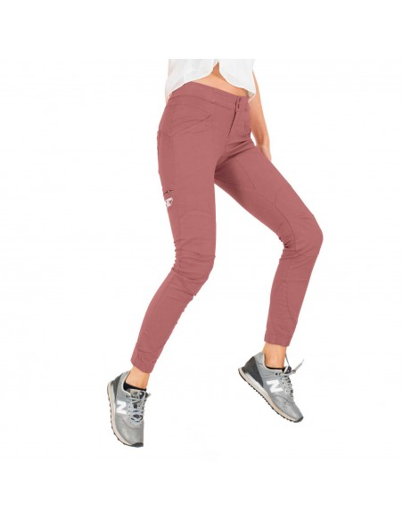 LFW Woman Technical Pants Layla Peak Old Pink Onbody Front