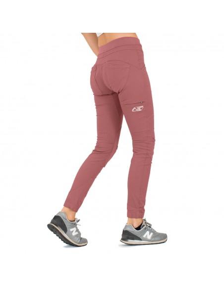 LFW Woman Technical Pants Layla Peak Old Pink Onbody Back