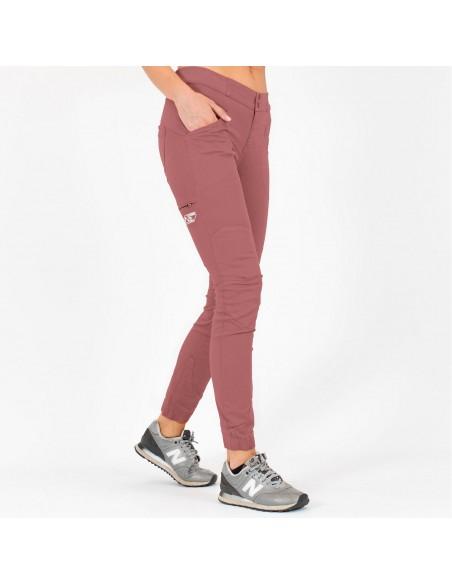 LFW Woman Technical Pants Layla Peak Old Pink Onbody Side