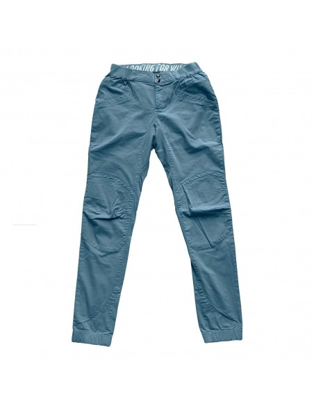 Looking for Wild Woman Technical Pants Layla Peak Grey Blue Offbody Front