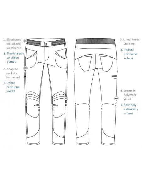 LFW Woman Technical Pants Layla Peak Design