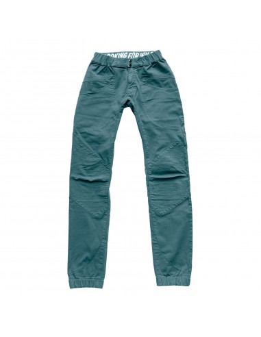 Looking for Wild Mens Technical Pants Fitz Roy Bleur Gris Offbody Front