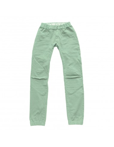 Looking for Wild Mens Technical Pants Fitz Roy Granit Green Offbody Front
