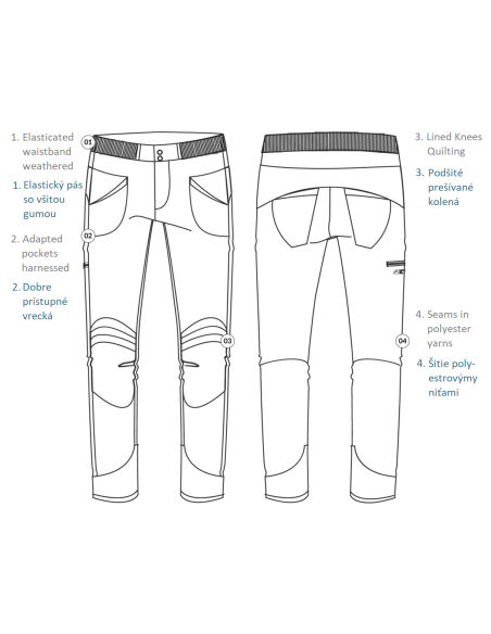 Looking for Wild Mens Technical Pants Fitz Roy Design