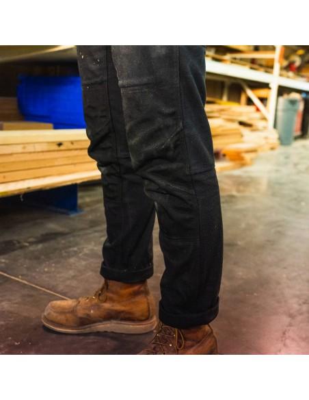 Topo Desings Pánske Nohavice Dual Pants Čierna Onbody Zboku Detaily