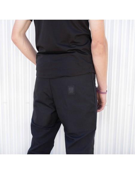 Topo Desings Pánske Nohavice Dual Pants Čierna Onbody Zozadu