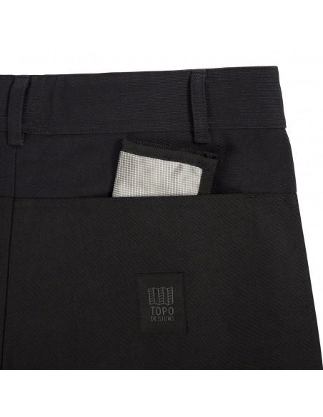 Topo Desings Pánske Nohavice Dual Pants Čierne Offbody Detail 2