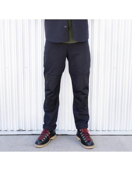 Topo Desings Pánske Nohavice Dual Pants Čierne Onbody Spredu