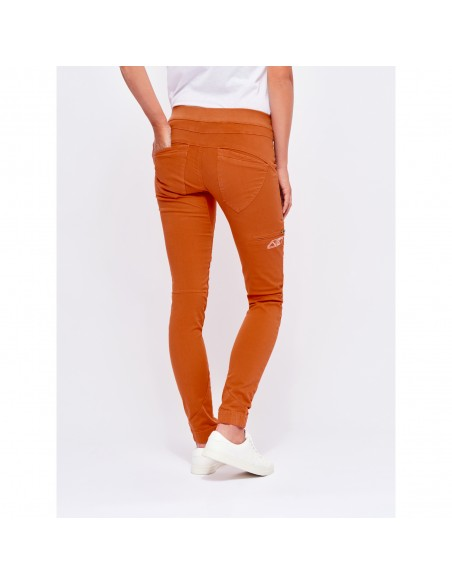 Looking for Wild Woman Technical Pants Layla Peak Candied Orange Onbody Back
