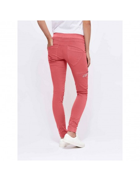 Looking for Wild Woman Technical Pants Layla Peak Tea Rose Onbody Back