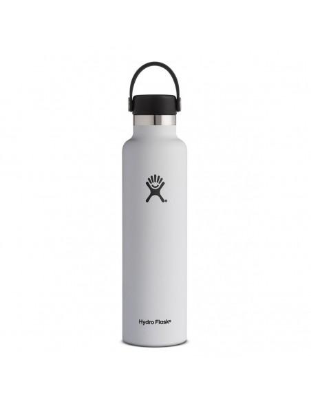 Hydroflask 24 oz Fľaša Termoska So Štandardným Hrdlom A Uzáverom Flex Cap Biela