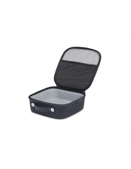 Hydroflask Obedár Lunch Box Malý Ostružinová Čierna Otvorený