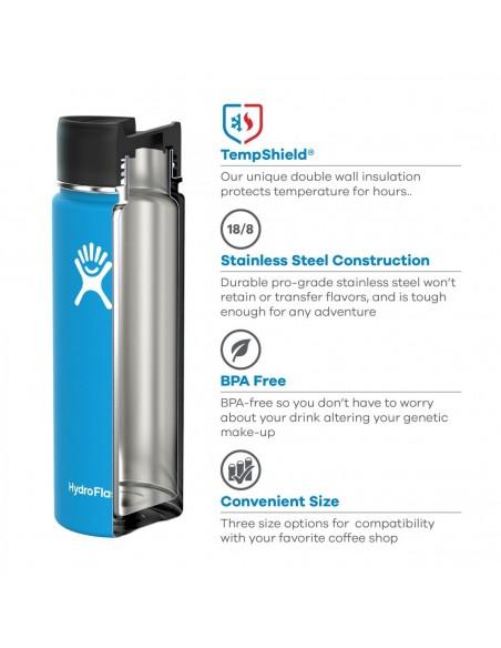 Hydroflask 16 oz Termoska Na Kávu So Širokým Hrdlom A Bezpečnostným Uzáverom Technológia Detaily