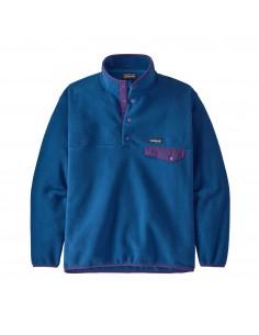 Patagonia Pánsky Fleecový Pulóver Synchilla Snap-T Superior Modrá Offbody Spredu
