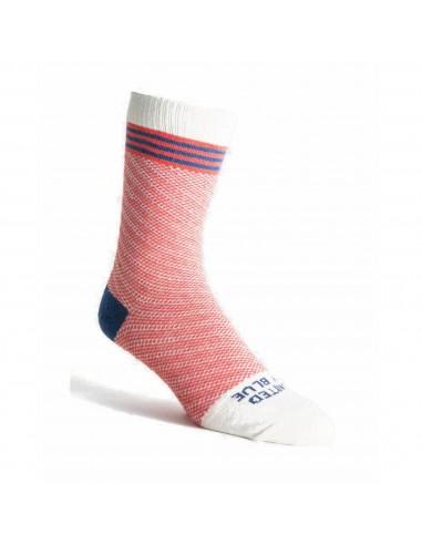 United By Blue Ponožky SoftHemp Červená