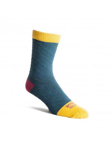 United By Blue Ponožky SoftHemp Modrozelená