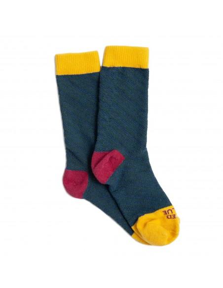 United By Blue Ponožky SoftHemp Modrozelená Pár