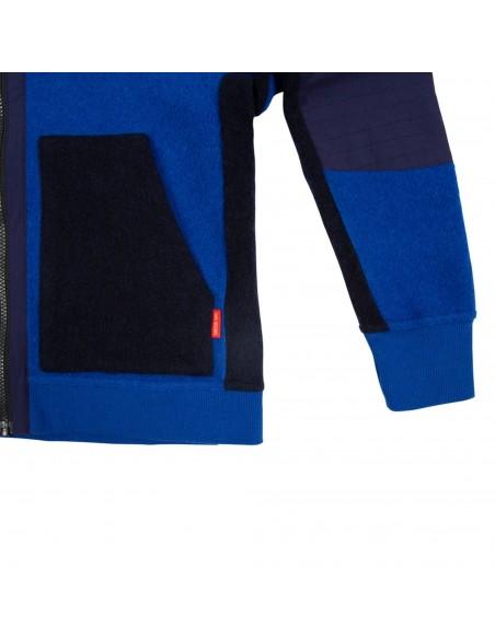Dámsky Global Full Zip Sveter Modrý Offbody Detail 2