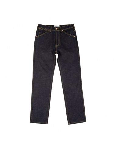 Topo Designs Mens 5 Pocket Pants Denim Raw Offbody Front