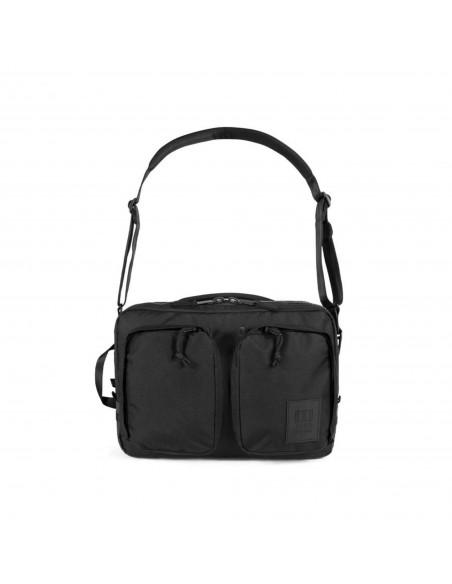 Topo Designs Global Aktovka Premium Čierna Detail