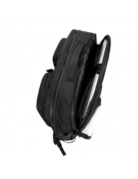 Topo Designs Global Aktovka Premium Čierna Detail 2