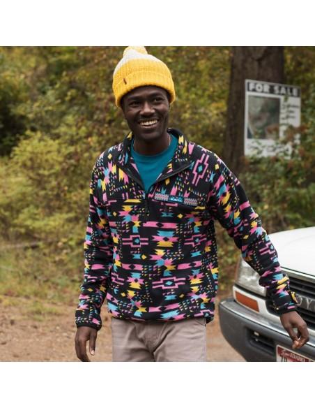 Kavu Mens Winter Throwshirt Strat Geo Lifestyle 1
