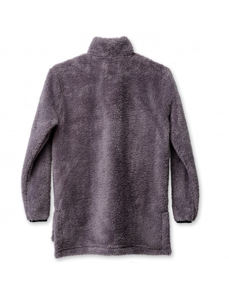 Kavu Womens Snowpack Sweater Smoked Pearl Offbody Back