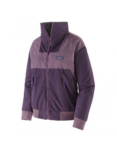 Patagonia Womens Shelled Synchilla Jacket Piton Purple Offbody Front