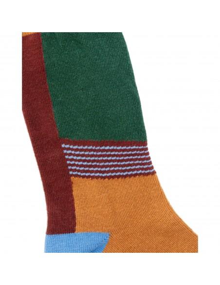 United By Blue Ponožky S Potlačou SoftHemp Hrdzavá Detail
