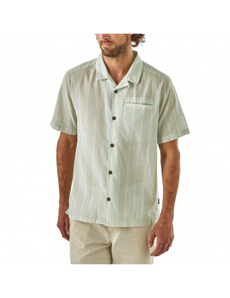 Patagonia Mens Lightweight A/C™ Shirt White Onbody Front
