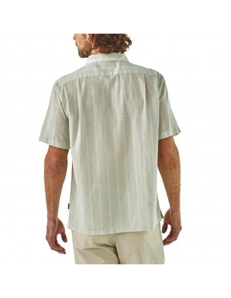 Patagonia Mens Lightweight A/C™ Shirt White Onbody Back