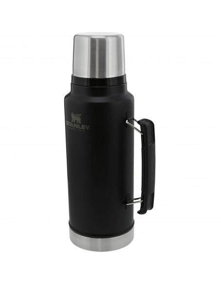 Stanley Classic Legendary Insulated Vacuum Bottle 1,4L Matte Black Side