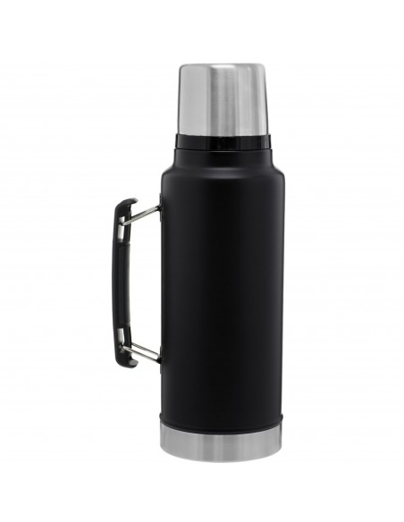 Stanley Classic Legendary Insulated Vacuum Bottle 1,4L Matte Black Side 2