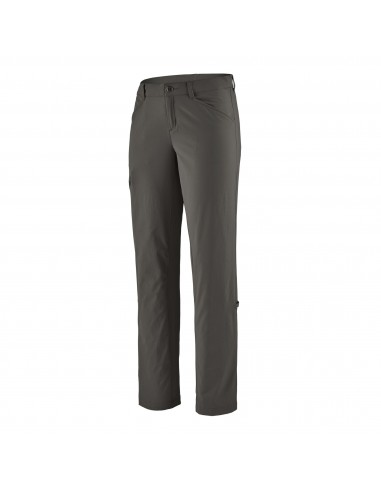 Patagonia Womens Quandary Pants Regular Forge Grey Offbody Front