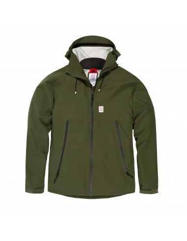 Topo Desings Mens Global Jacket Olive Offbody Front
