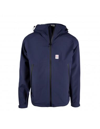 Topo Designs Pánska Bunda Global Jacket Navy Modrá Offbody Spredu