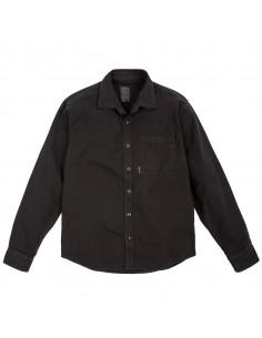 Topo Designs Pánska Košeľa Dirt Shirt Čierna Offbody Spredu