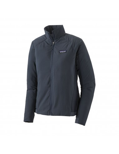Patagonia Dámska Zateplená Bunda Airshed Jacket Smolder Modrá Offbody Spredu