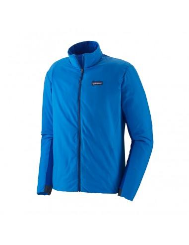 Patagonia Pánska Zateplená Bunda Airshed Jacket Andes Modrá Offbody Spredu