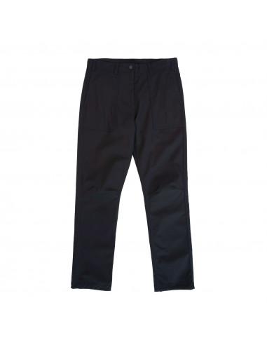 Topo Designs Pánske Nohavice Global Pants Čierna Offbody Spredu